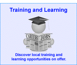 Link button to Training and Learning page.