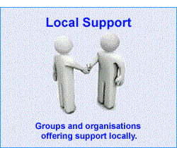 Link to loca goups and oganisations that provided support.